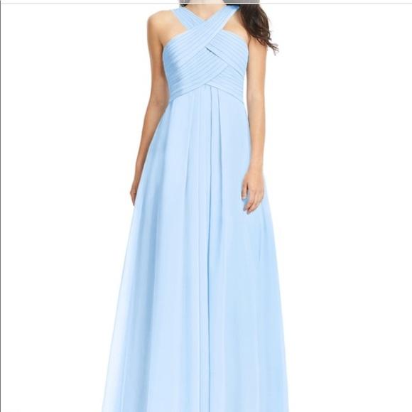 Azazie Dresses & Skirts - Sky Blue Azazie Bridesmaid Dress